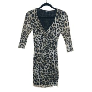 Bebe | Leopard Print Bodycon Dress